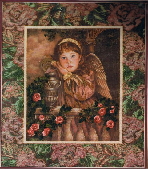 Dimensions Donna Richardson The Littlest Angel Crewel Embroidery Kit