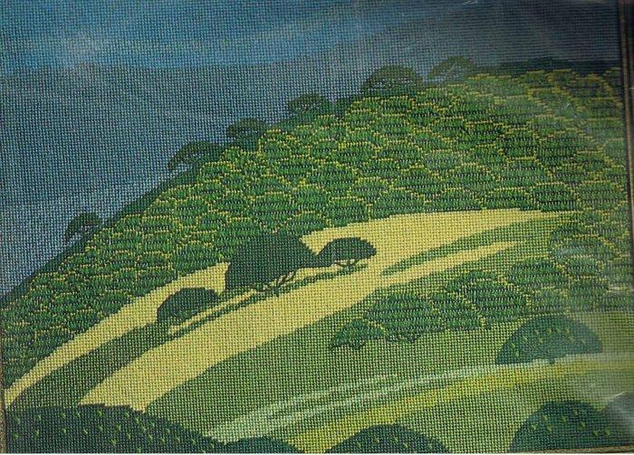 Spinnerin Rolling Hills Modern Needlepoint/Tapestry Kit