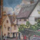 Peggoty's Pictures Elm Hill Village Scene Needlepoint/Tapestry Kit