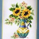Elsa Williams Sunflower Jubilee Crewel Stitchery Kit