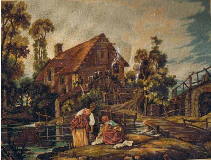 Twilley's The Old Mill Needlepoint/Tapestry/Cross Stitch Kit