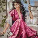 """Completed Tapestry Lady Spinning """"La Fileuse"""""""