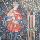 "Margot ""Le Menestrel"" The Minstrel Medieval Cluny Tapestry/Needlepoint Kit"