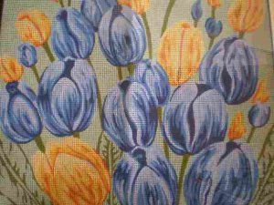 """Gobelin """"Tulips"""" Tapestry / Needlepoint kit"""