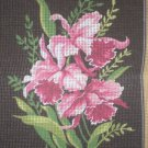 "Margot Creations de Paris ""Orchid"" Tapestry / Needlepoint kit"