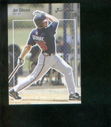 Jon Gilmore 2007 Just Rookies