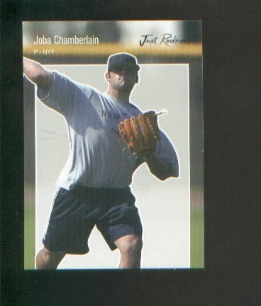 Joba Chamberlain 2006 Just Rookies Preview