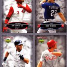 Chase Utley  2006 Tuff Stuff Perforated Card