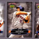 David Wright  2006 Tuff Stuff Perforated Card