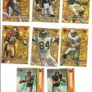 Randy Moss  1999 Collector's Edge Triumph Pack Warriors