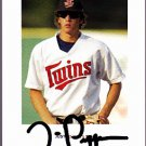 Trevor Plouffe 2004 Just Rookies Autographed