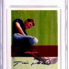Tim Drew 2000 Justifiable 2k Graded 2k  Autographed Graded MINT  9.0