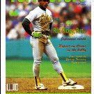 Rickey Henderson 1991 Tuff Stuff #10 Neatly Hand cut