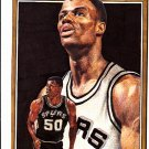 David Robinson 1991 Tuff Stuff #12 Neatly Hand cut