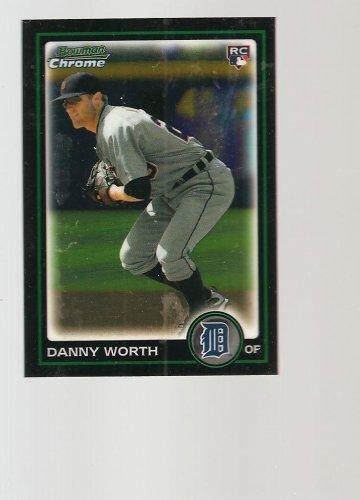 Danny worth  2010 Bowman Chrome Draft  BDP16