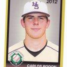 Carlos Rodon 2012 Diamond Prospects