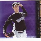 Jeff Francis 2007 UD SP Rookie #15 (Lot of 10 cards)