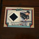 Jeff Francis 2005 Bowman Futures Game Gear Jersey Card
