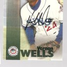 Vernon Wells 1999 Team Best Autographed