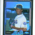 Pedro Martinez #418 2005 Topps Chrome Black Refractor #/225