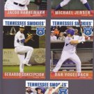 Gerardo Concepcion   Lot of 5 - 2015 Tennessee Smokies
