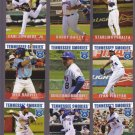 Ryan Dent  Lot of 5 - 2015 Tennessee Smokies