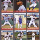 P. J. Francescon  Lot of 5 - 2015 Tennessee Smokies