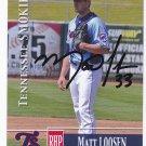 Matt Loosen Autographed 2014 Tennessee Smokies
