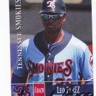 Leo Perez  Autographed 2014 Tennessee Smokies