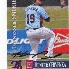 Hunter Cervenka    Autographed 2014 Tennessee Smokies