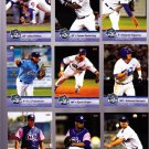 P. J. Francescon    Lot of 5 cards  2013 Daytona Cubs