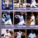 Frank Del Valle    Lot of 5 cards  2013 Daytona Cubs