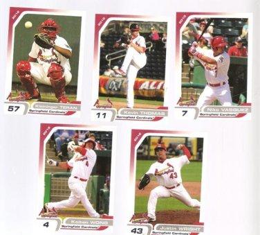 Kevin Thomas  2012 Springfield Cardinals