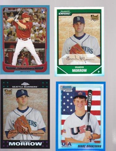 Marc Brakeman BDPP94 2010 Bowman Chrome USA Baseball #/199