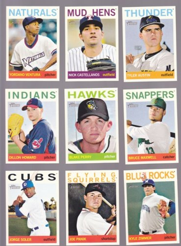 Blake Perry #77    2013 Topps Heritage Minors