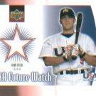 Sam Fuld 2002 UD Rookie Update USA Future Watch Swatch