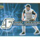 Curt Schilling 2002 UD Rookie Update 5-Star Tribute Jersey Card