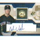 Adam Walker 2002 UD Rookie Update Autograph #/825