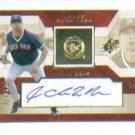Jorge De La Rosa 2002 UD Rookie Update Autograph #/825