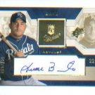Juan Brito 2002 UD Rookie Update Autograph #/825