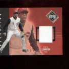 Barry Larkin #249 2002 UD Diamond Connection Jersey Card #/775