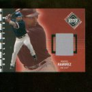 Manny Ramirez #250 2002 UD Diamond Connection Jersey Card #/775