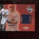 Tim Salmon  #202 2002 UD Diamond Connection Jersey Card #/775