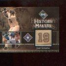 Juan Gonzalez #497 2002 UD Diamond Connection Relic Card #/150