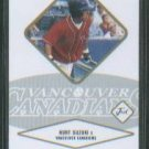 Kurt Suzuki Gold #/100 2004 Justifiable