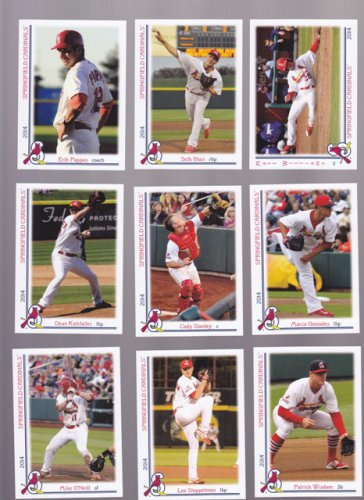 Marco Gonzalez      2014 Springfield Cardinals   -  single card