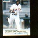 Jason Bourgeois  2001 Appalachian League Top Prospect