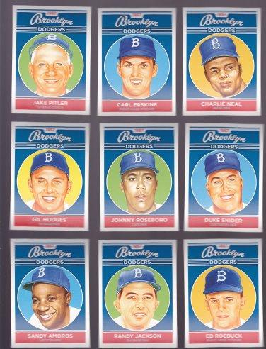 Jake Pitler    -   Artist Portrait of 1957 Brooklyn Dodger's Players