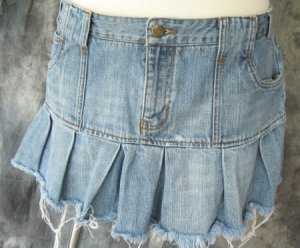 American Eagle Outfitters Pleat Mini Skirt Womens 12