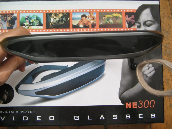 WTS'' 80'' VIRTUAL VIDEO GLASSES